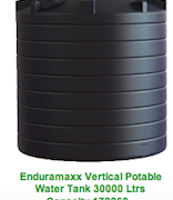 30,000L Potable Water Tank